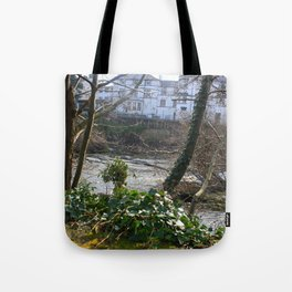 Fast Current On Early Spring Tote Bag