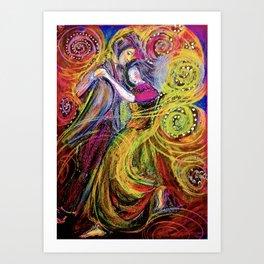 Dance With My Heart Art Print