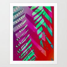 Hot Tropicana Art Print