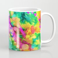 camouflage Mugs featuring Camouflage by Geni