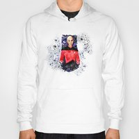 picard Hoodies featuring Captain Picard Day by Lady Yate-xel