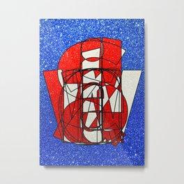 Switzerland - Glitter Metal Print