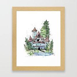 Mouse's Castle Framed Art Print