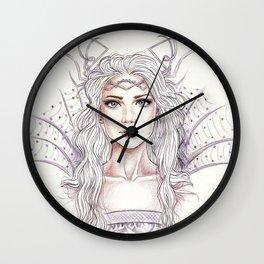 Ice queen Wall Clock