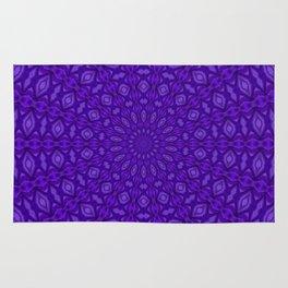 Ultra Violet and Purple Satin Harmony Rug