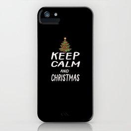 Christmas Christmas Tree iPhone Case