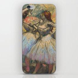 """Edgar Degas """"Dancers"""" iPhone Skin"""