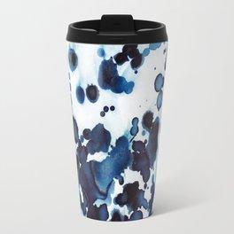 Large waves and sea spray. Travel Mug