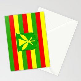 Kanaka Maoli Flag Stationery Cards