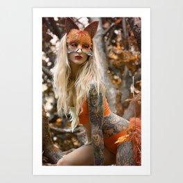 Gabrielle Art Print