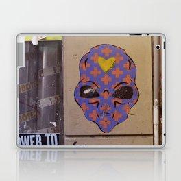 Martian street art Laptop & iPad Skin