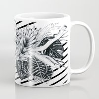 sketch Mugs featuring Sketch by Cat Sims