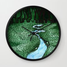 Landscapes / Nr. 2 Wall Clock
