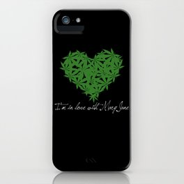 Mary Jane (white text) iPhone Case
