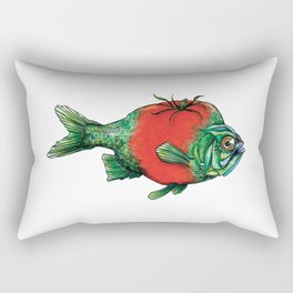 Tomato Fish Rectangular Pillow