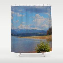 Shadow Mountain Lake, Colorado  Shower Curtain
