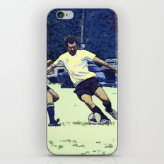 The Challenge - Soccer Players iPhone & iPod Skin