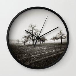 { skeleton trees } Wall Clock