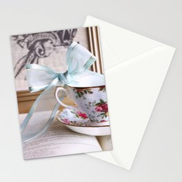 Teacup & Ribbon Stationery Cards