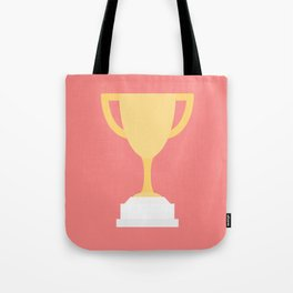 #100 Trophy Tote Bag