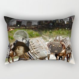 Black Women Are The Mules Of The Earth - Zora Neale Hurston Rectangular Pillow