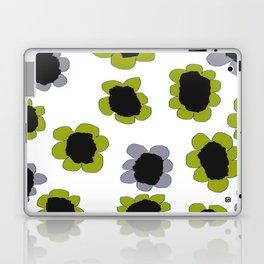 Daisies - Avocado and Slate Laptop & iPad Skin