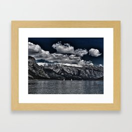 Time Stands Still Framed Art Print