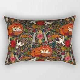fox garden Rectangular Pillow
