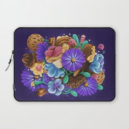 SWEETS & FLOWERS Laptop Sleeve