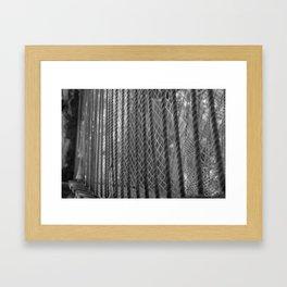 Rope Bridge Framed Art Print