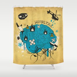 MKULTRA Shower Curtain