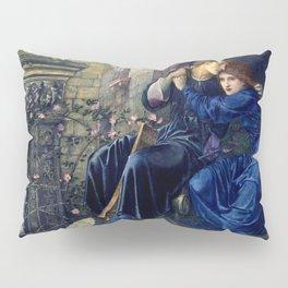 "Edward Burne-Jones ""Love Among the Ruins"" Pillow Sham"