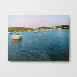 Out At Sea | Sail boats | Bermuda Metal Print