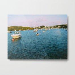 Out At Sea | Sail boats | Bermuda Metal Print