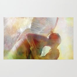 The kiss of the angel Rug