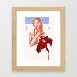 Jehan Framed Art Print