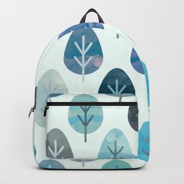Watercolor Forest Pattern #2 Backpack
