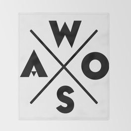 WOSA - World of Street Art Throw Blanket