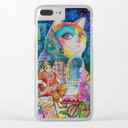 Tunisia Clear iPhone Case