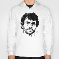 will graham Hoodies featuring Will Graham Sketch - Hannibal by Soyarts