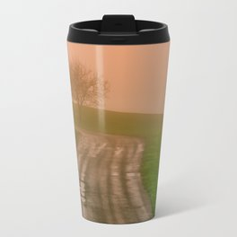 She Was in Love With Her Rose Colored Glasses Travel Mug
