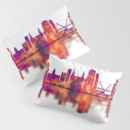Leeds England Skyline Pillow Sham