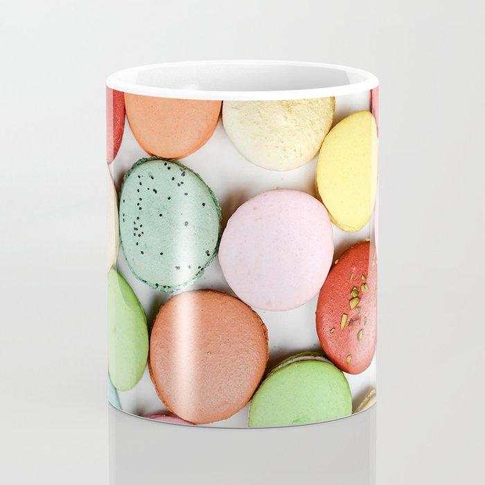 Rainbow Macaroons Coffee Mug
