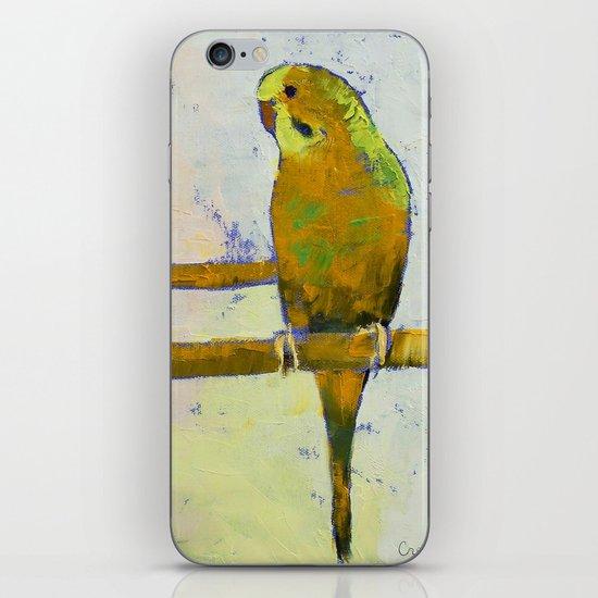 Three Parakeets iPhone Skin