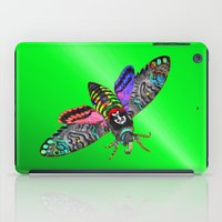 goth iPad Cases featuring Goth Moth by Jan4insight