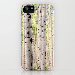 Dreamy Aspen Grove iPhone Case