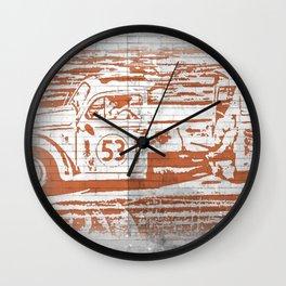 Herbie Has A Split Ride? Wall Clock