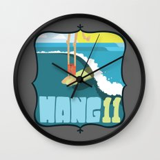 Hang 11 Wall Clock