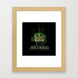 The Last Metroid Framed Art Print