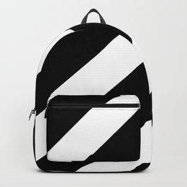 optical pattern 14 - strip Backpack
